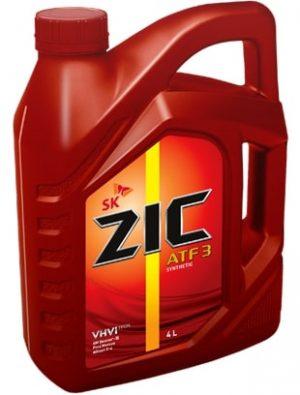 Масло трансмиссионное ZIC ATF 3 4л
