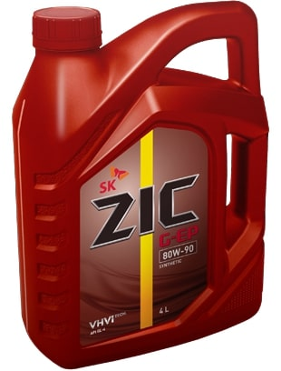 Масло трансмиссионное ZIC 80W90 G-ep 4л