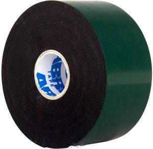 Лента двухсторонняя черная ABRO Masters 50мм*5м