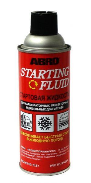 Жидкость стартовая ABRO SF-650 312мл