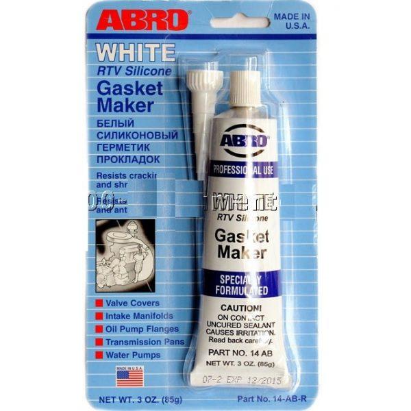 Герметик прокладок ABRO 14-AB белый 85гр