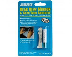 Клей для зеркала заднего вида ABRO RV-495 0.5мл