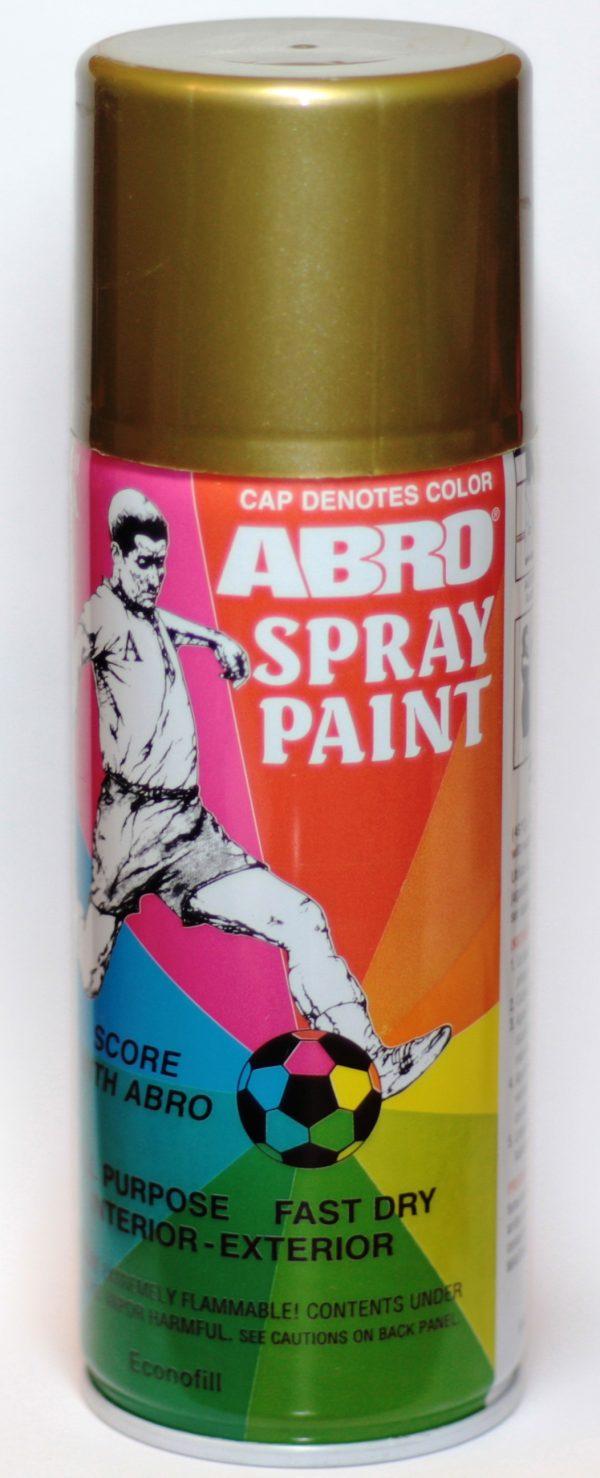 Краска-спрей ABRO 27 бронза 226 г
