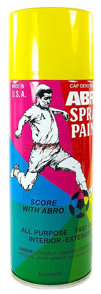 Краска-спрей ABRO 53 желтая 226г
