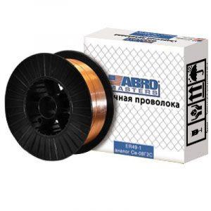 Проволока сварочная ABRO 1мм 15кг