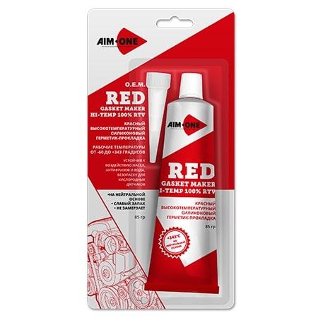 Герметик прокладок AIM-ONE GM-RD0085 красный 85гр