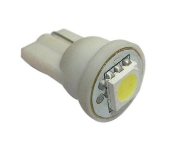 Автолампа светодиодная ДИАЛУЧ 92221 SMD 1L HP 12V P21W 12V BA15s 1W HP, белая, повыш.яркости