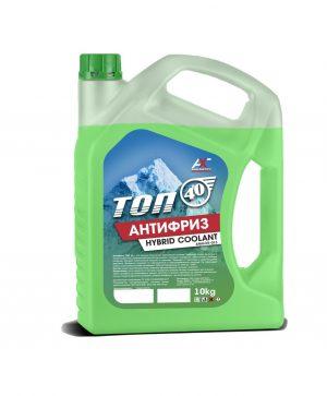 Антифриз ТОП-40 G11 зеленый 10кг