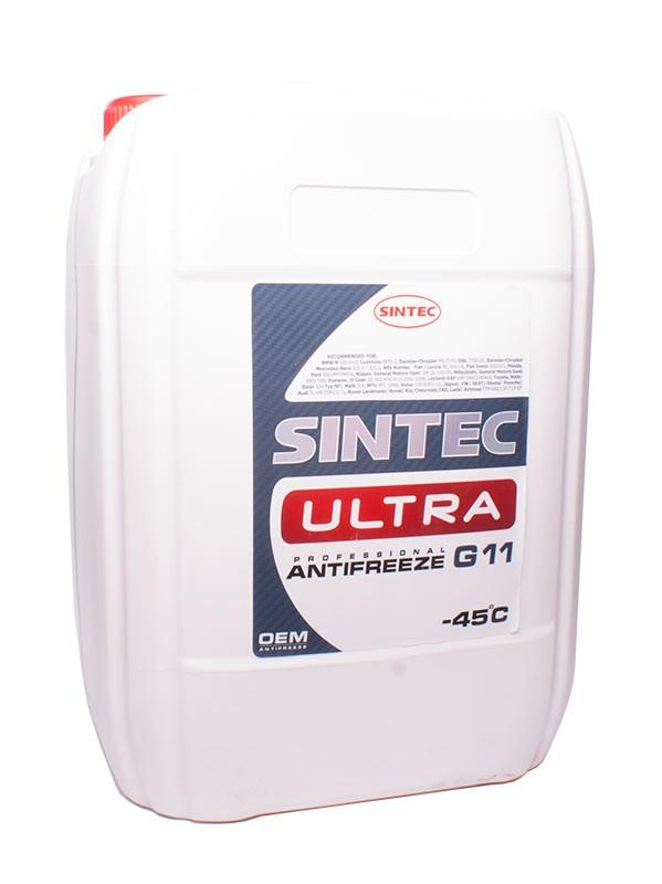 Антифриз SINTEC ULTRA G11 красный 10кг