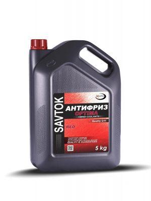 Антифриз SAVTOK OPTIMA G11 красный 5 кг