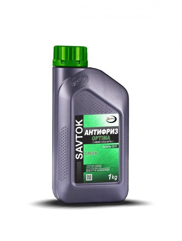 Антифриз SAVTOK OPTIMA G11 зеленый 1кг