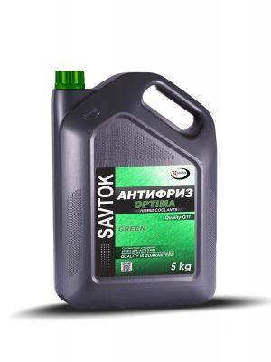 Антифриз SAVTOK OPTIMA G11 зеленый 5кг