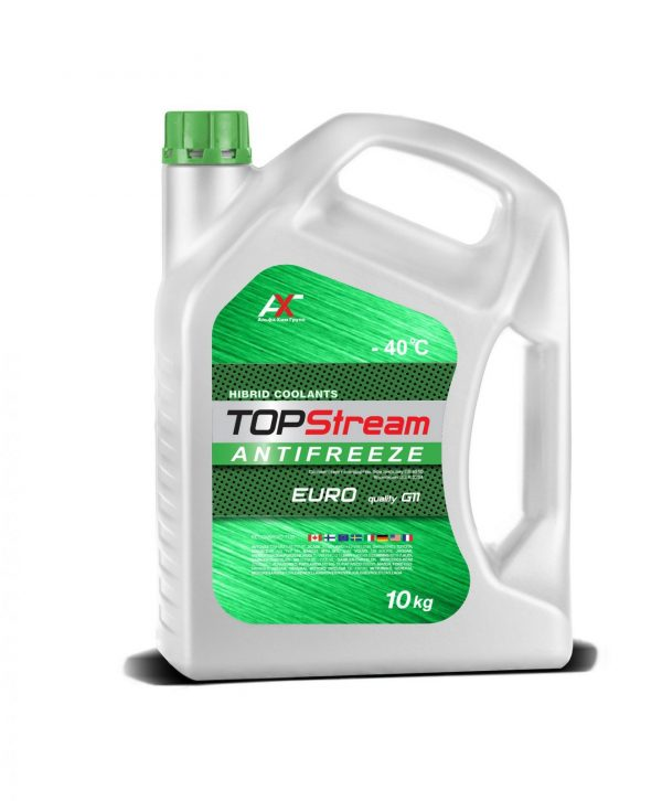Антифриз TOPStream EURO G11 зеленый 10кг