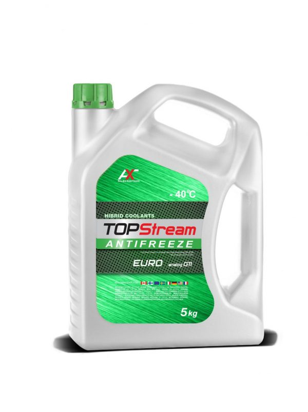 Антифриз TOPStream EURO G11 зеленый 5кг