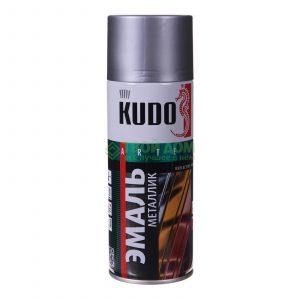 Эмаль KUDO KU-1027 хром универсальная 520мл