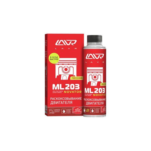 Жидкость ЛАВР Ln 2507 раскоксовывание двигателя ML203 NOVATOR 320мл