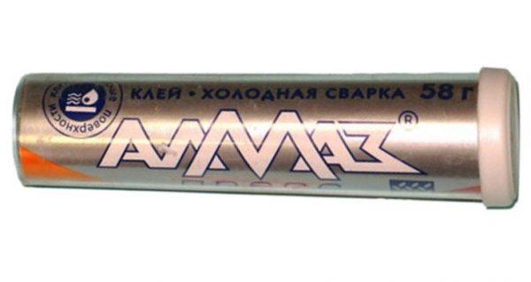 Сварка холодная Алмаз (универсальное сверхпрочное средство)