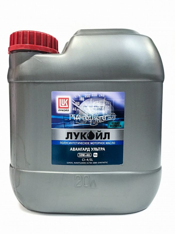 Масло моторное ЛУКОЙЛ Авангард Ультра 10W-40 CI-4/SL полусинтетика 50л