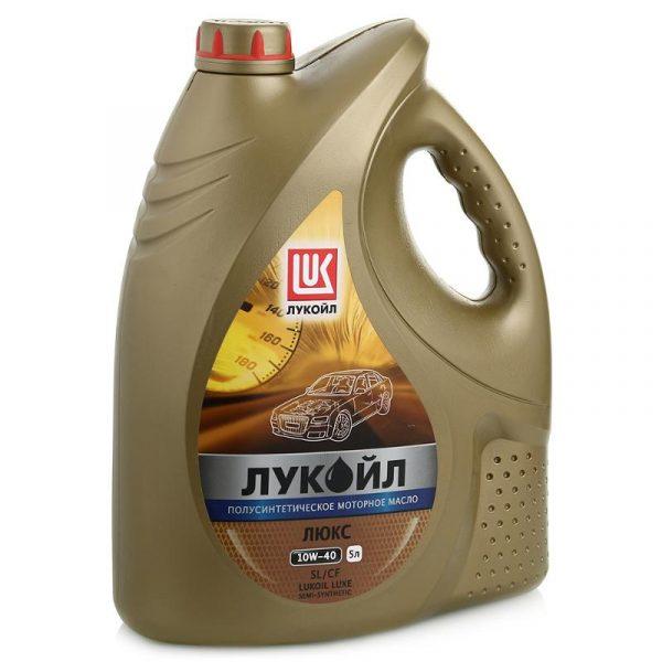 Масло моторное ЛУКОЙЛ Люкс 10W-40 SL/SF полусинтетика 5л
