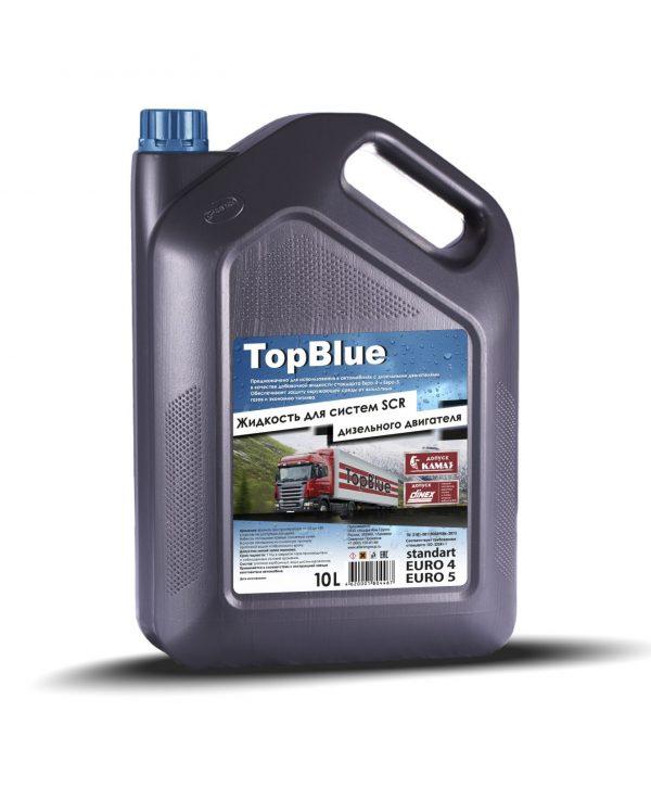 Мочевина TopBlue жидкость для системы SCR дизельных двигателей 10л  (серая канистра)