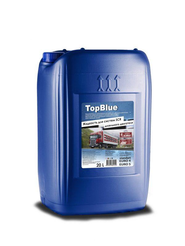 Мочевина TopBlue жидкость для системы SCR дизельных двигателей 20л