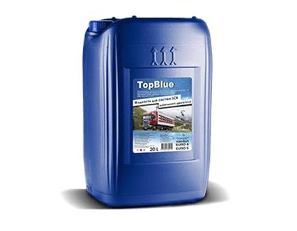Мочевина TopBlue жидкость для системы SCR дизельных двигателей, розлив