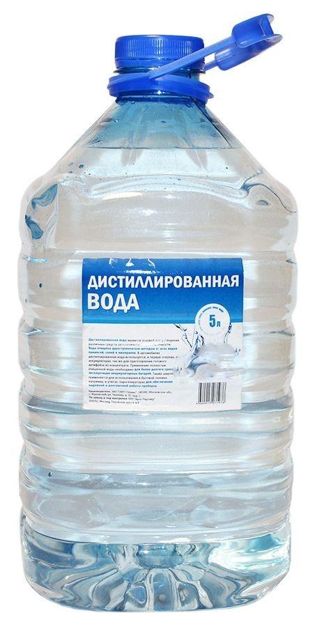 Дистиллированная вода ПЭТ 5л