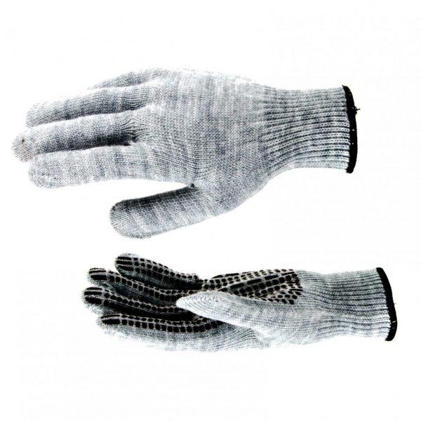 Перчатки Протектор серые, большие