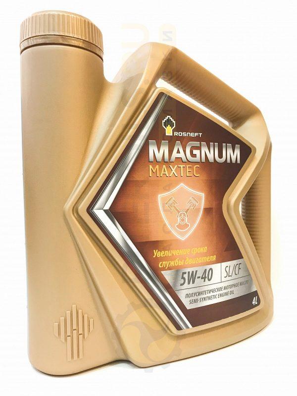Масло моторное РОСНЕФТЬ Magnum Maxtec 10W-40 SL/CF 4л