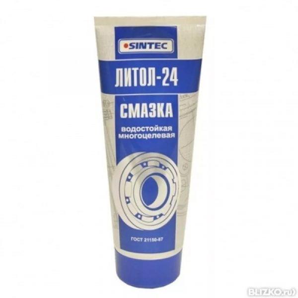 Смазка Литол-24 SINTEC туба 250гр