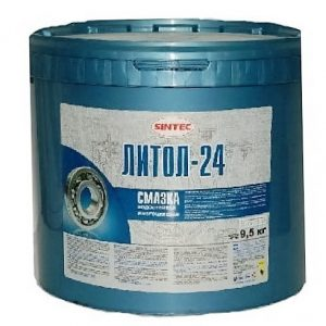 Смазка Литол-24 SINTEC 9.5кг