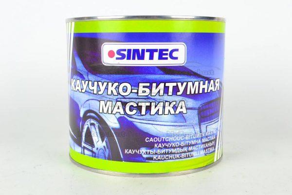 Мастика каучуко-битумная SINTEC 1.8кг