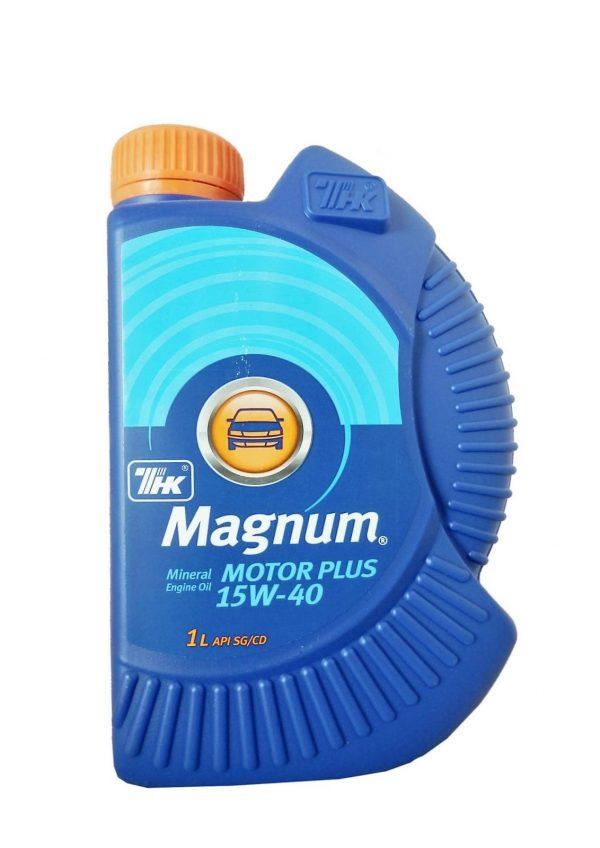 Масло моторное ТНК Magnum Motor Plus 15W-40 SG/CD 1л