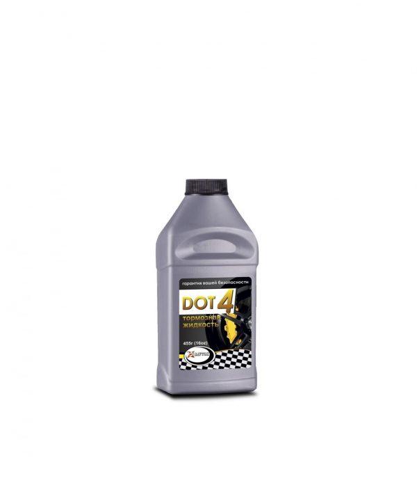 Тормозная жидкость SAVTOK DОТ-4 серебро 455гр