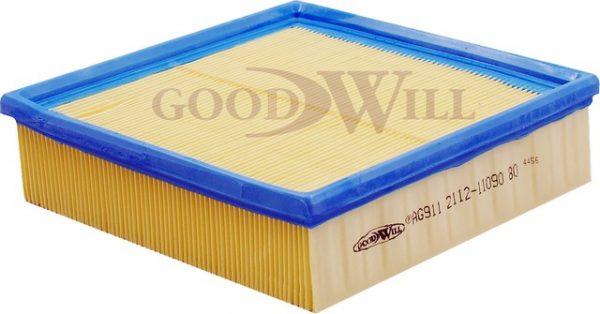 AG 911 GOODWILL воздушный фильтр ВАЗ 2108-2115 инжекторный без сетки