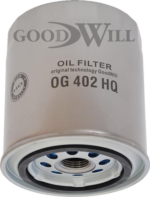 OG 402 HQ GOODWILL масляный фильтр ГАЗ двигатель 406 УАЗ Патриот