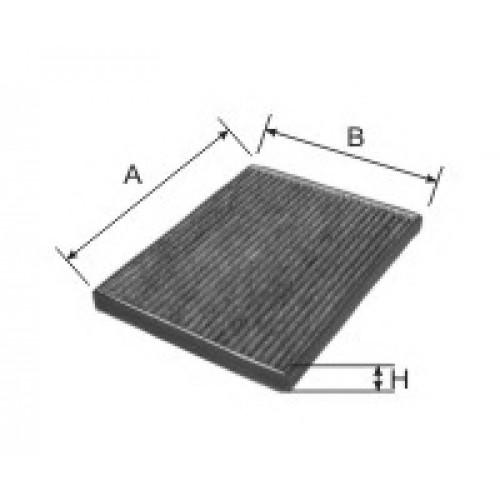 AG 168 CFC GOODWILL салонный фильтр угольный CHERY Sweet QQ Tiggo