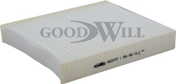 AG 247 CF GOODWILL салонный фильтр FORD Focus Cabriolet VOLVO C30 C70 II Cabriolet S40 V50