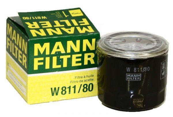 W 811/80 MANN масляный фильтр HYUNDAI Accent I, II, III >94, Elantra