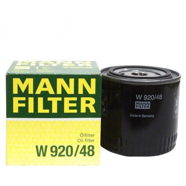 W 920/48 MANN масляный фильтр NISSAN JEEP CHRYSLER RENAULT DODGE
