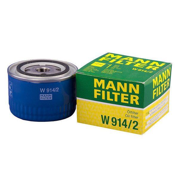 W 914/2 MANN масляный фильтр ВАЗ 0.5  (инд.упак.)