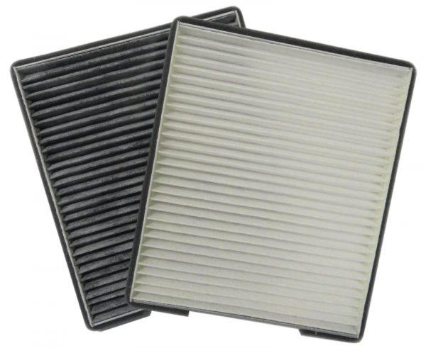 ЭФВ 161.1109080-10 Ливны фильтр воздушный салонный угольный Лада Приора с кондиционером HALLA
