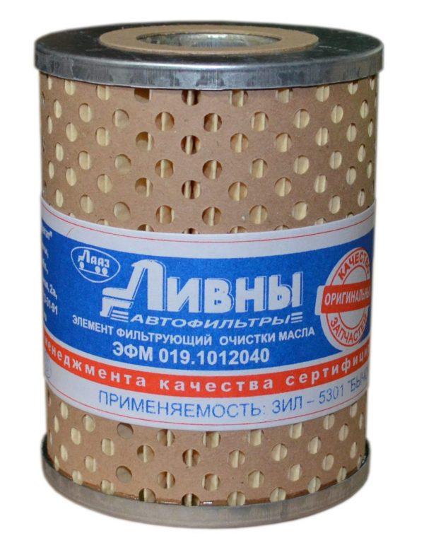 019-1012040 Ливны масляный фильтр ЗИЛ 5301 Бычок ММЗ двигатель Д-245