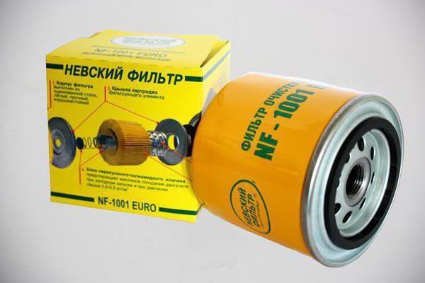 НЕВСКИЙ ФИЛЬТР масляный ВАЗ-2101 1001 EURO
