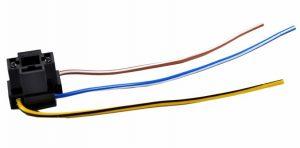 Колодка автолампы ДИАЛУЧ Н4 R2 3 конт.гнездовая провода КЛ126-1 4 573 739 015
