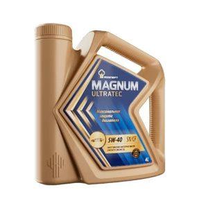 Масло моторное РОСНЕФТЬ Magnum Ultratec 5W-40 SN/CF 4л
