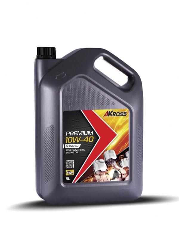 Масло моторное AKross PREMIUM 10W-40 SG/CD 5л
