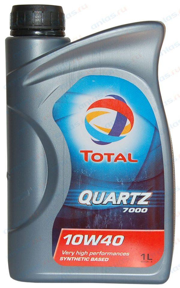 Масло моторное Total QUARTZ 7000 10W-40 SN/SF полусинтетика 1л