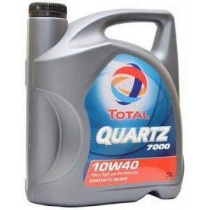 Масло моторное Total QUARTZ 7000 10W-40 SN/SF полусинтетика 4л