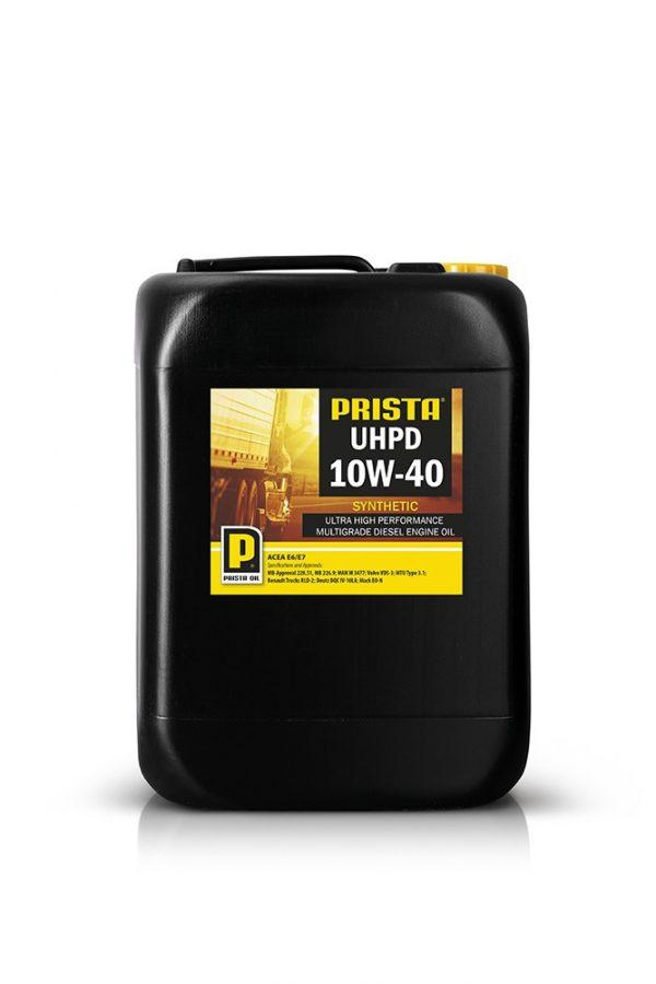Масло моторное PRISTA UHPD 10W-40 MB 228.51 226.9 MAN M 3477 Volvo VDS-3 синтетика 20л